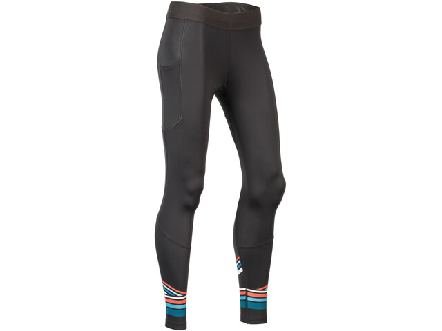 2XU Accelerate Compression Tights with Storage Women, black/shebert teal stripe